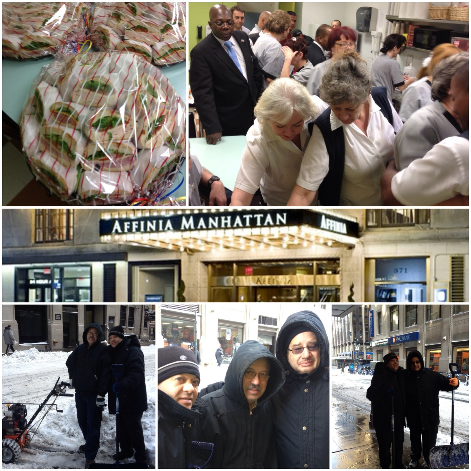 Affinia Manhattan Welcomes First Snow Storm of 2014
