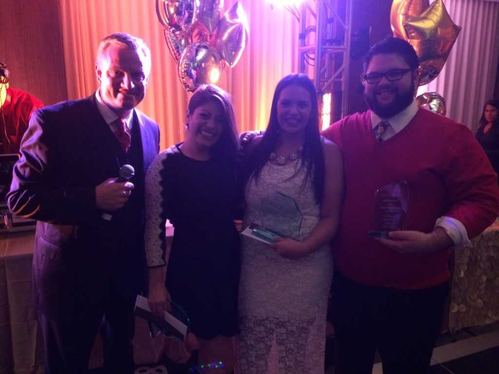 Winners! Team member of the year, Manager of the year and Manager of the Q4!